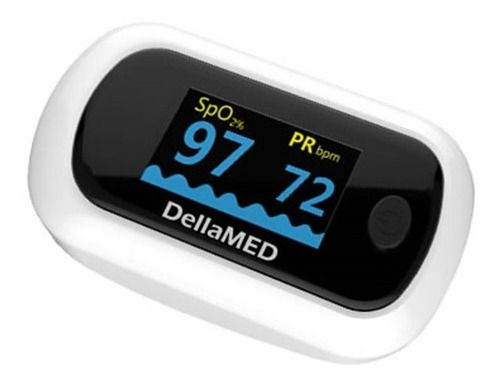 Oxímetro De Pulso Premium Com Alarme - Dellamed