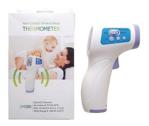 Termometro Infravermelho Sem Contato Ao Corpo Zoss Dm300