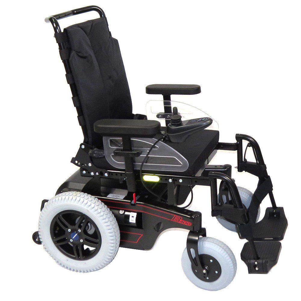Cadeira de Rodas Motorizada com Encosto Reclinável B400