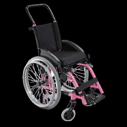 Cadeira de rodas Ultra lite infantil rosa
