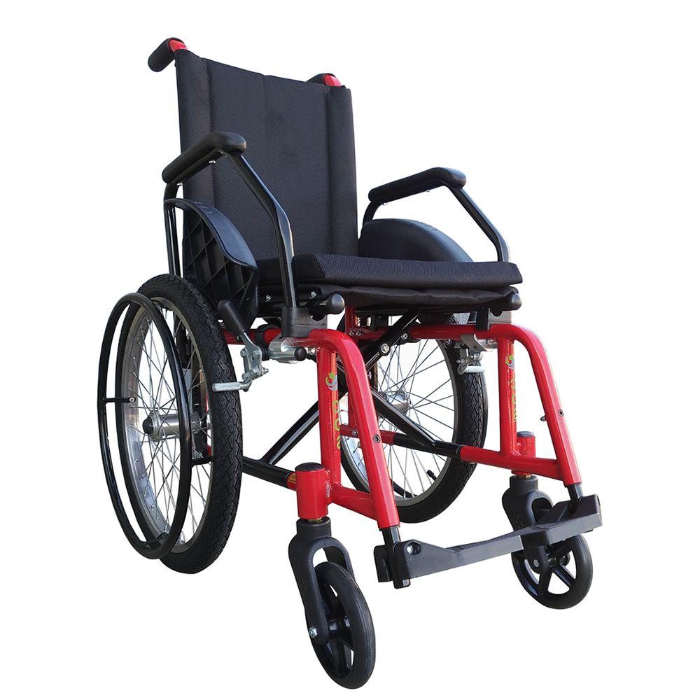 CÓPIA - Cadeira de Rodas Infantil Solzinho em Alumínio CDS