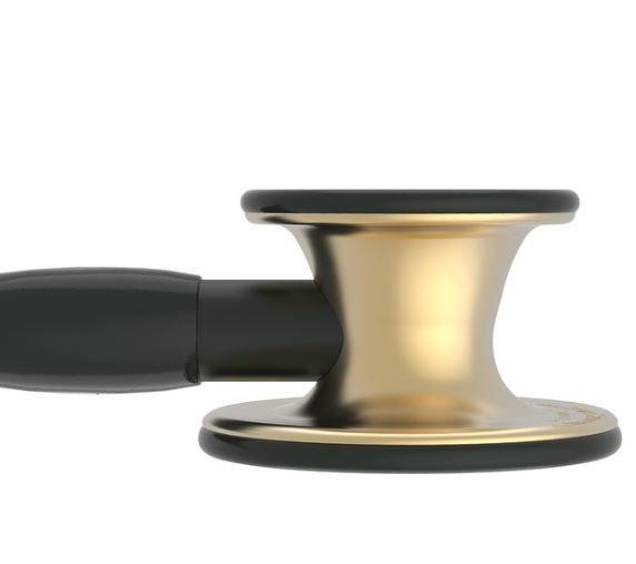 Estetoscópio Littmann Cardiology IV Preto Bronze - 6164