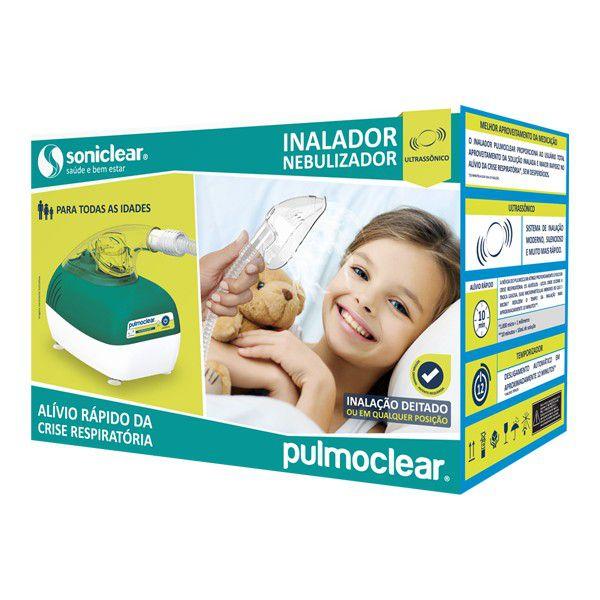 Inalador e Nebulizador Ultrassônico Pulmoclear