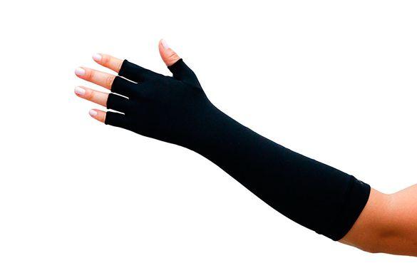 Luvas de protecao solar curta dedos longos