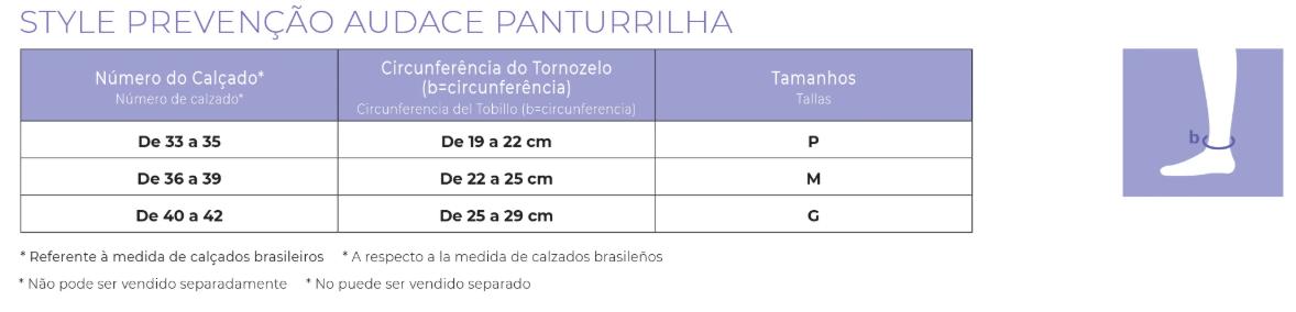 MEIA LEVE COMPRESSÃO SIGVARIS STYLE AUDACE -15-20mmHg- PONTEIRA ABERTA