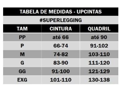 SUPER LEGGING CALÇA MODELADORA CINTURA ALTA