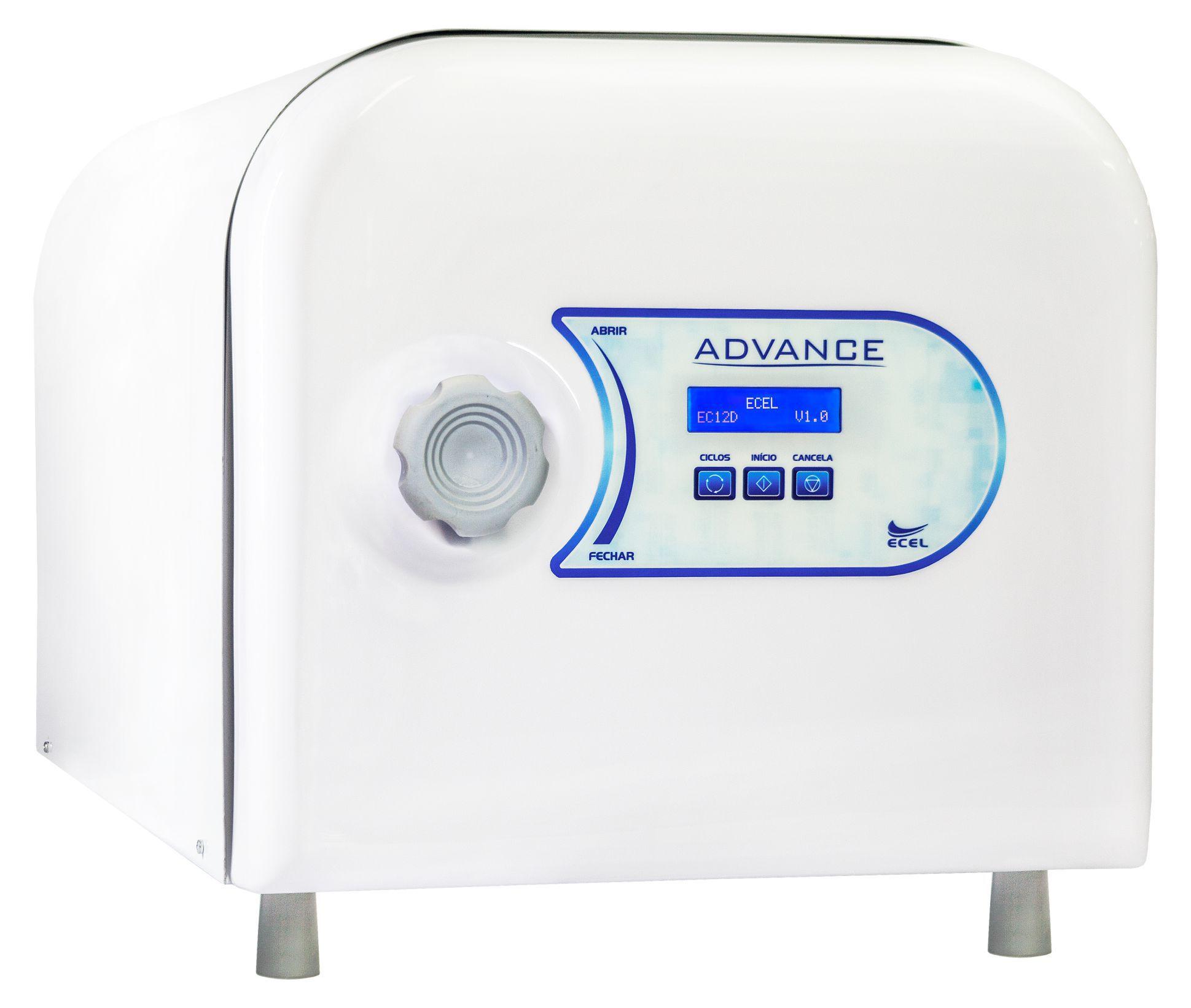 Autoclave 12 Litros EC12D ADVANCE
