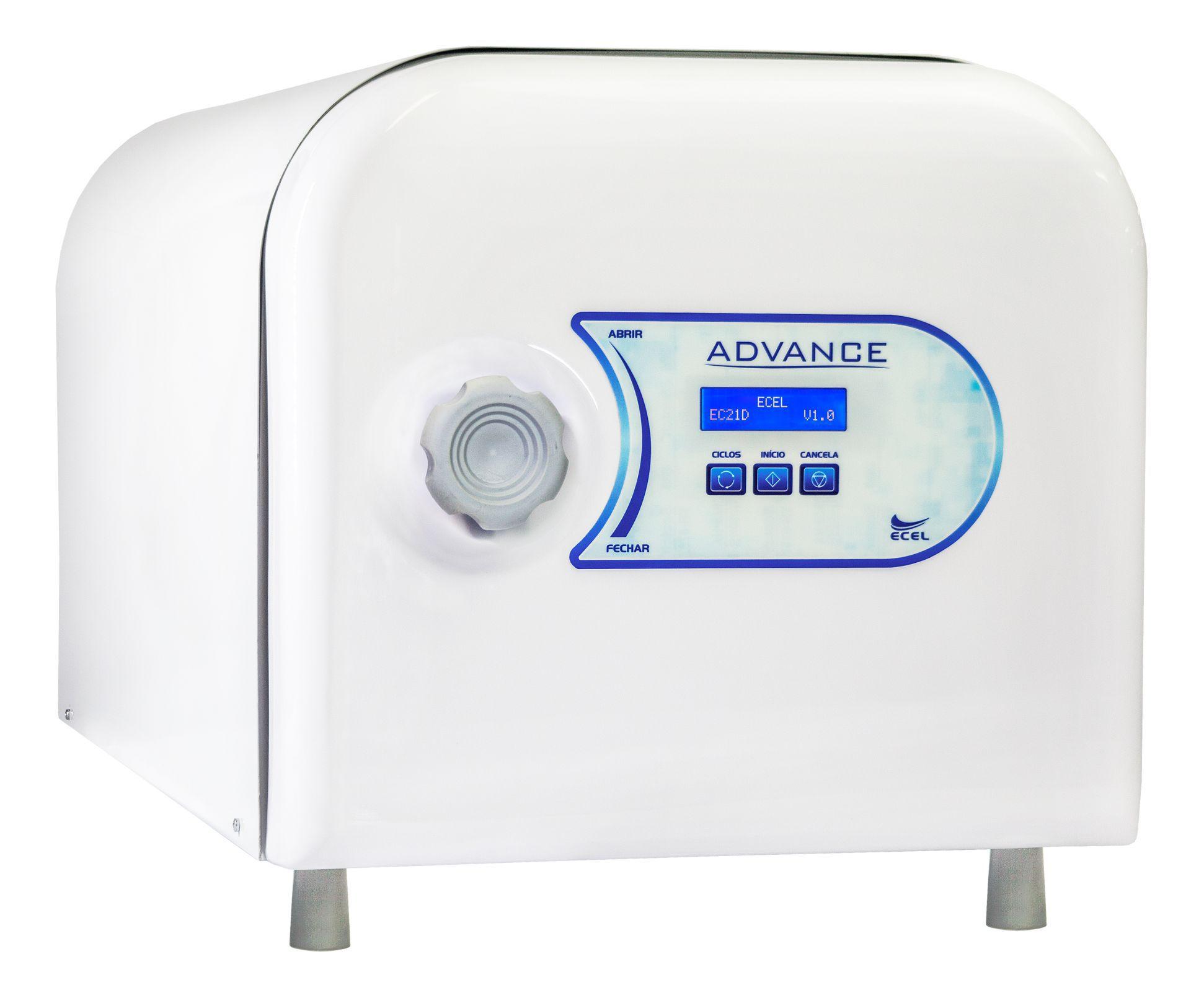 Autoclave 21 Litros EC21D ADVANCE