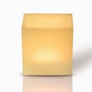 03 luminárias em parafina  10 cm x 10 cm