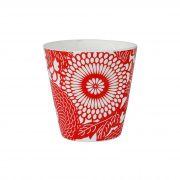 Copo cerâmica decorado