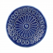 Incensário em cerâmica artesanal