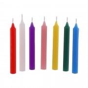 7 velas palito N°4