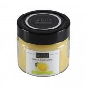 Vela perfumada 100% óleo essencial (Limão Siciliano)