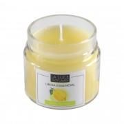 Vela perfumada  óleo essencial (Limão Siciliano)