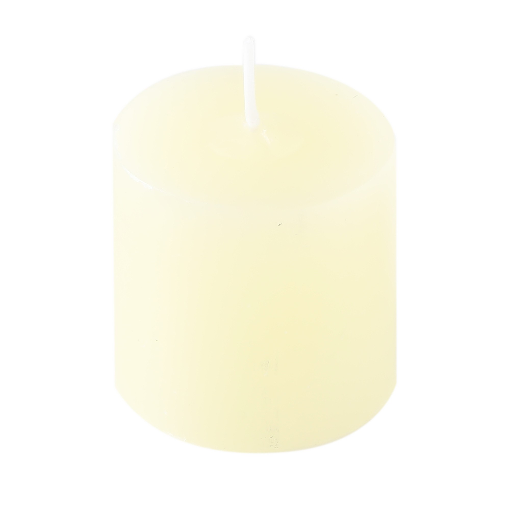 24 velas  Marfim -  5 cm x 5 cm