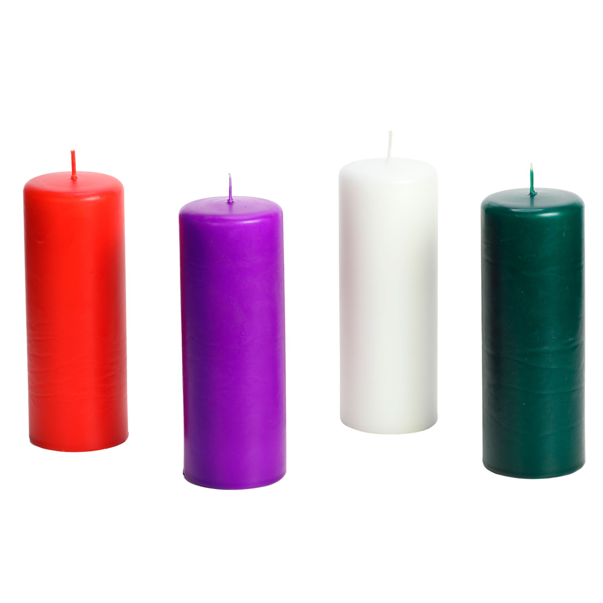 4 velas da coroa do advento