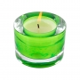 """Vela perfumada """"Bambu"""" com almofada aromática de brinde"""