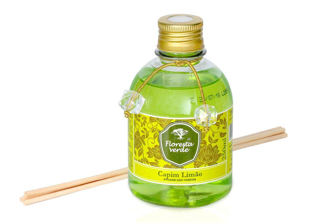 Difusor de ambiente Capim Limão (250 mL)