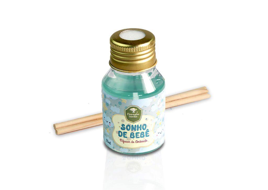 Difusor de ambiente Sonho de bebê (60 ml)