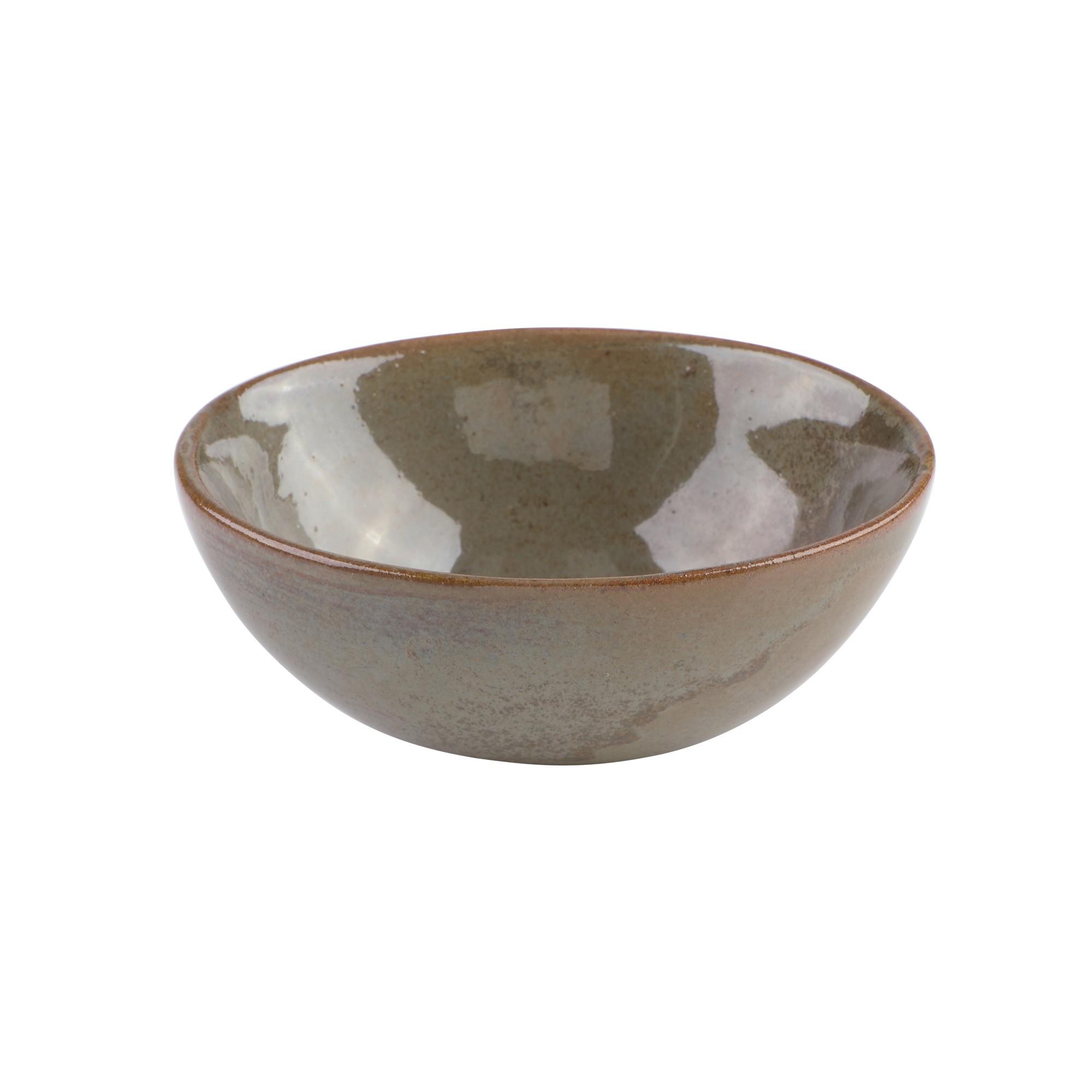 Incensário de cerâmica cumbuca oval ( com variações de cor)