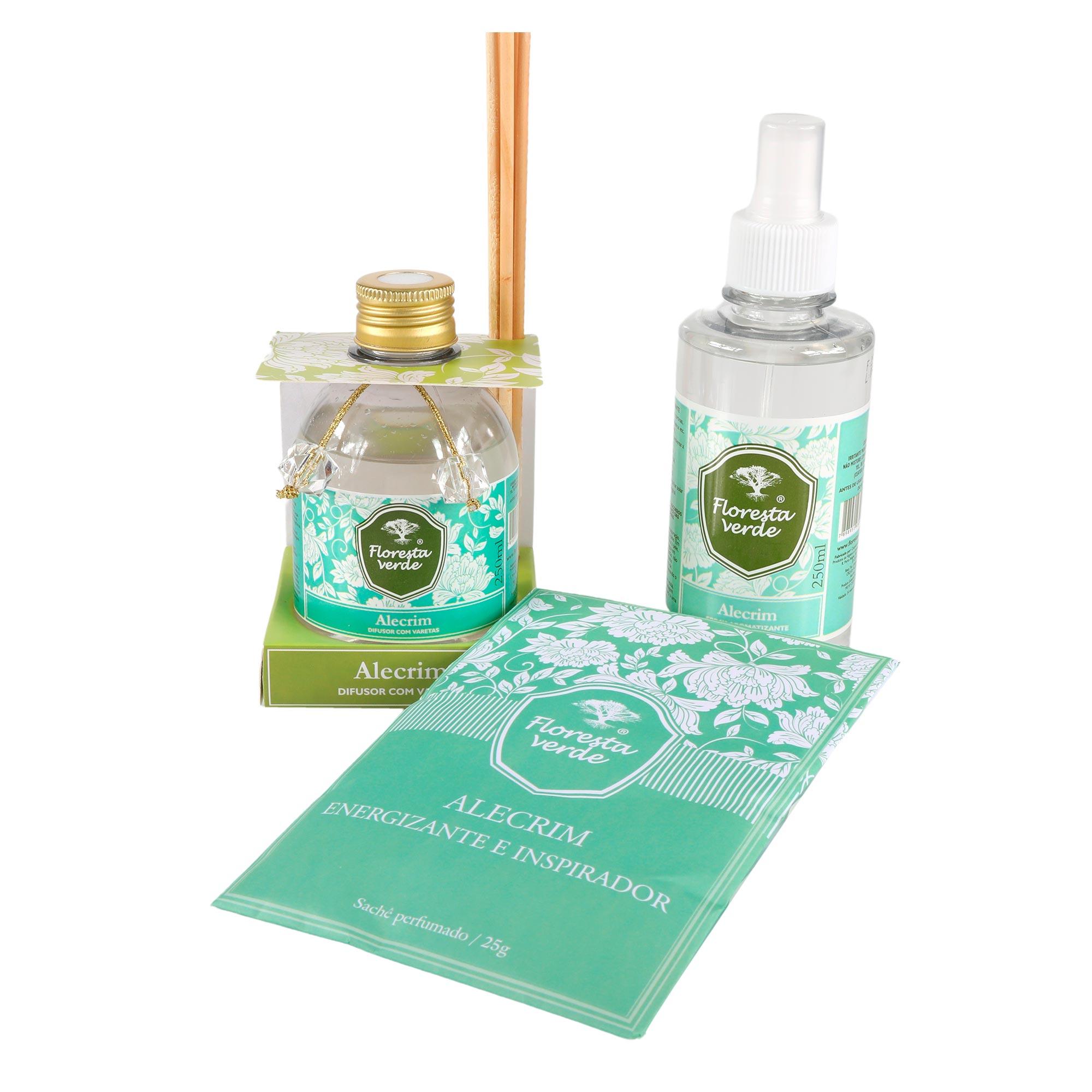 Kit perfumes para o ambiente