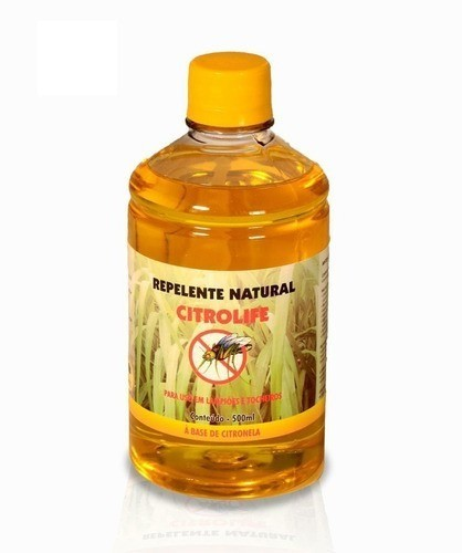 Kit Repelente: 10 L Óleo Citronela + 10 Tocheiro Com Pavio