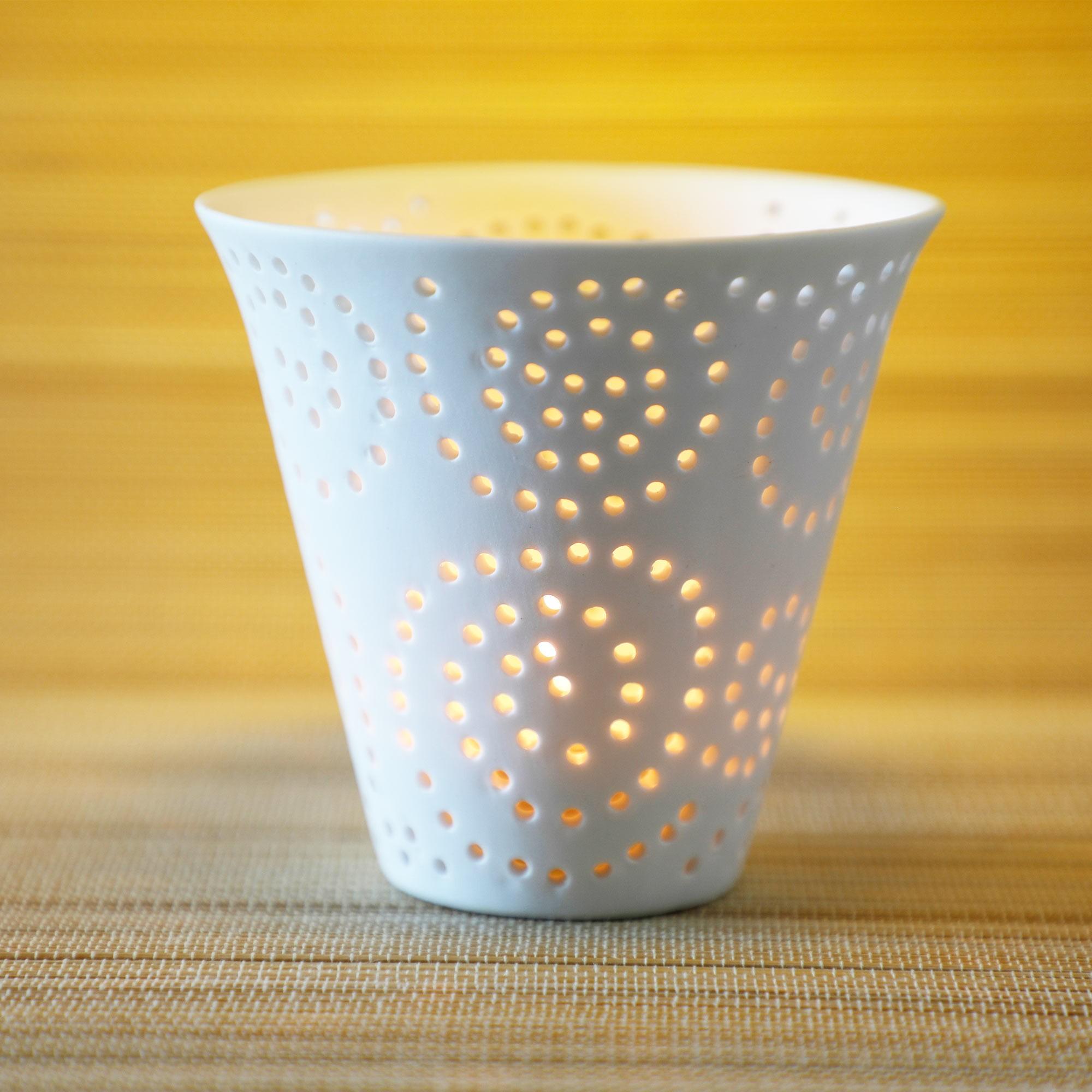 Lanterna em cerâmica ( linha mediterrânea 2)