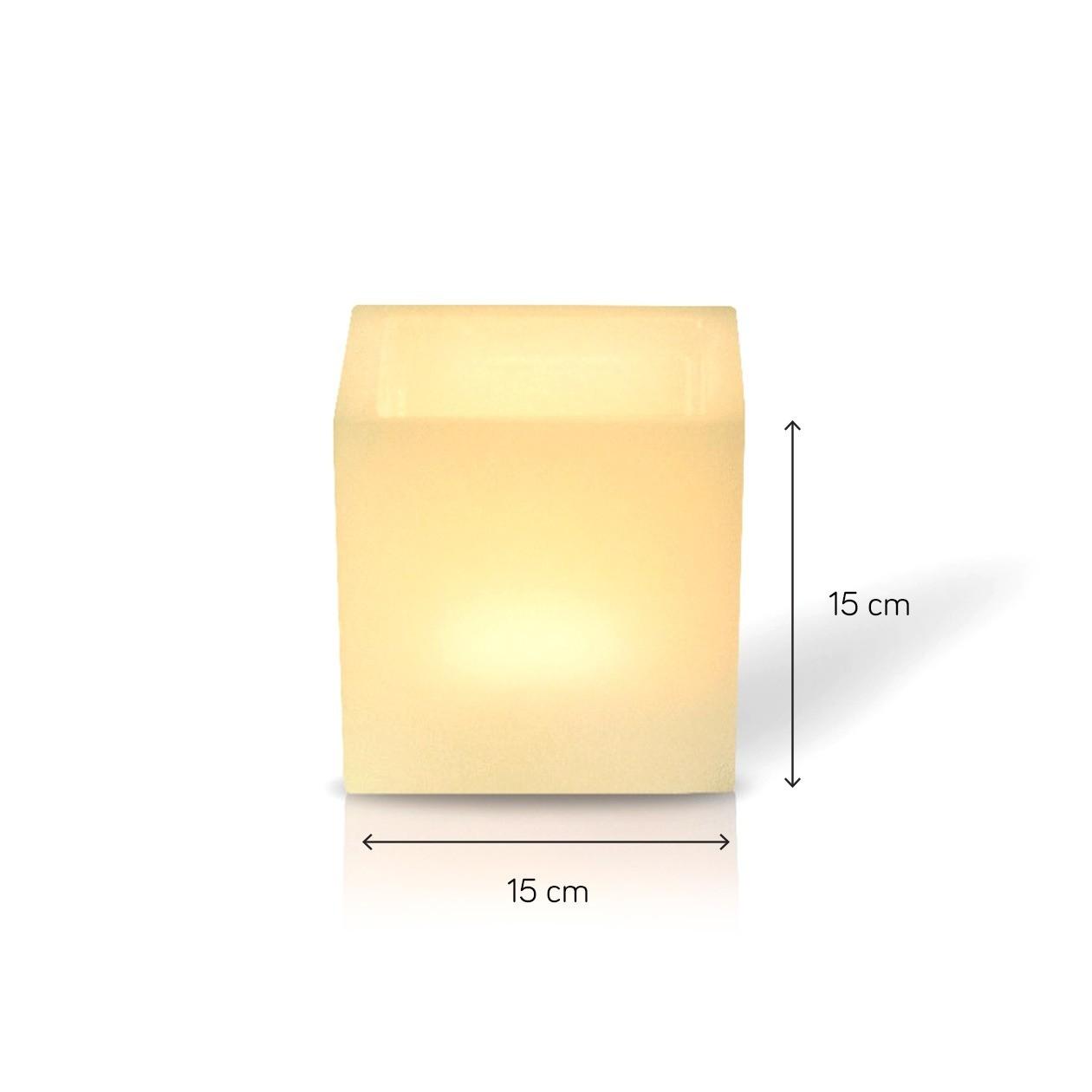 Luminária Quadrada com 15 cm