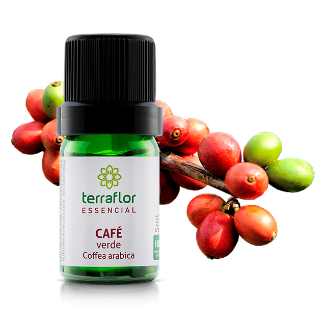Óleo essencial café verde 5 ML