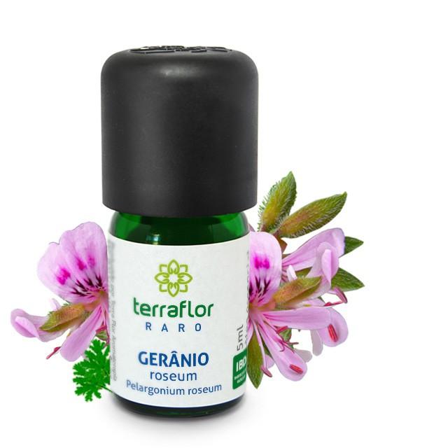 Óleo essencial Gerânio Roseum 5 ml