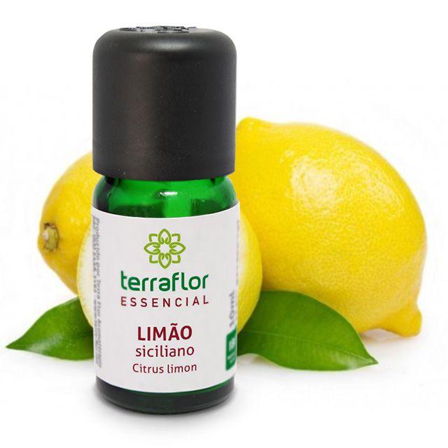 Óleo essencial Limão Siciliano 10 mL
