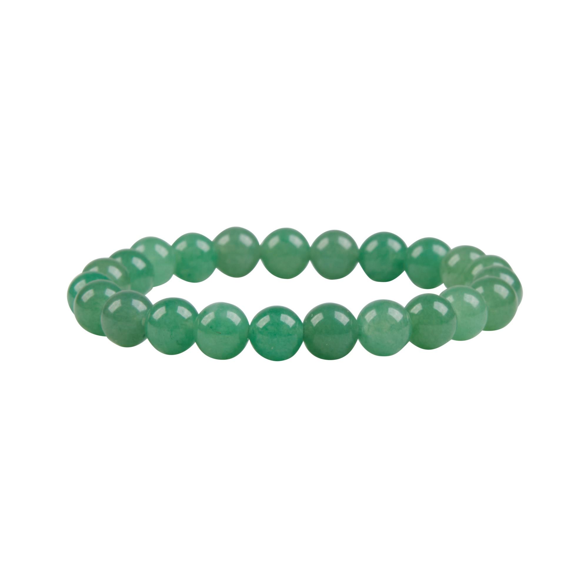 Pulseira de esferas em Quartzo Verde