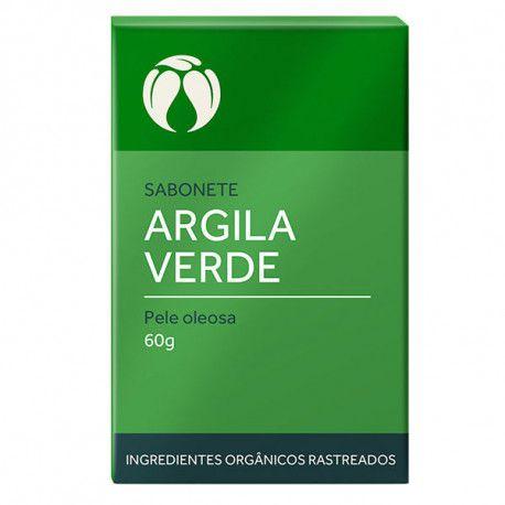 Sabonete de argila verde (pele oleosa) 60 g