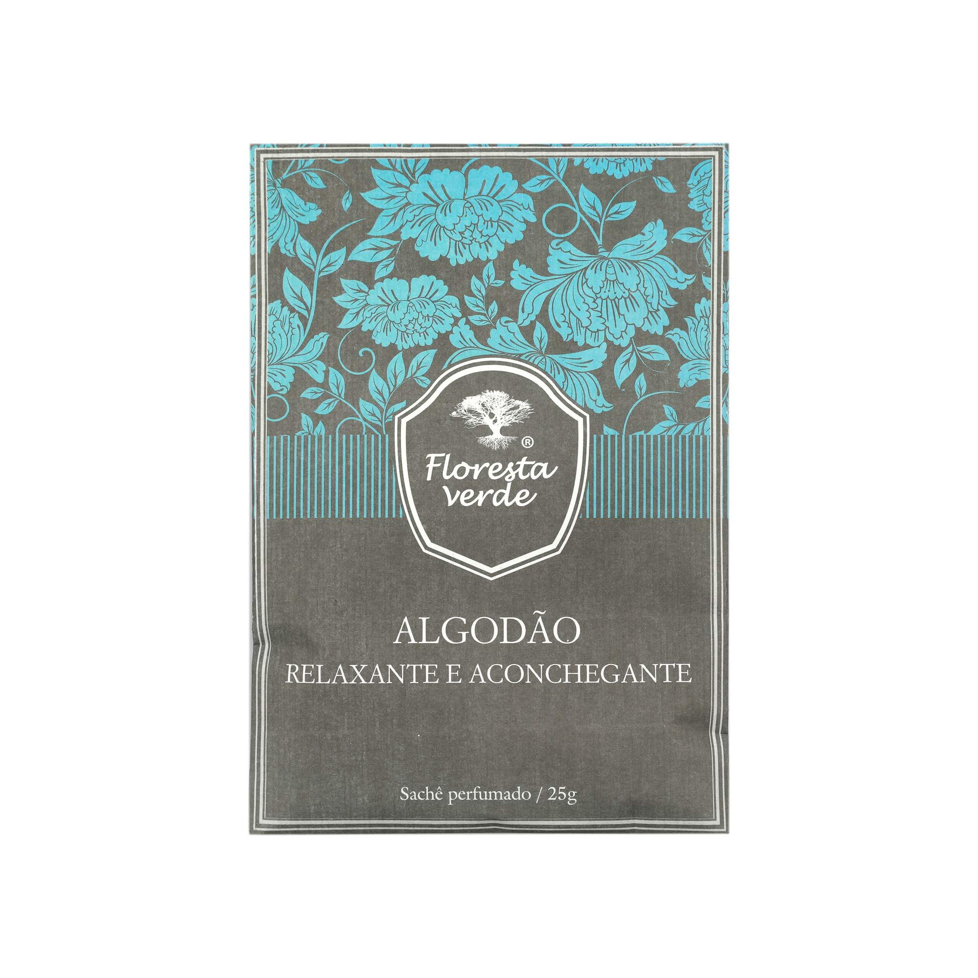 Sachê perfumado Algodão  25 g
