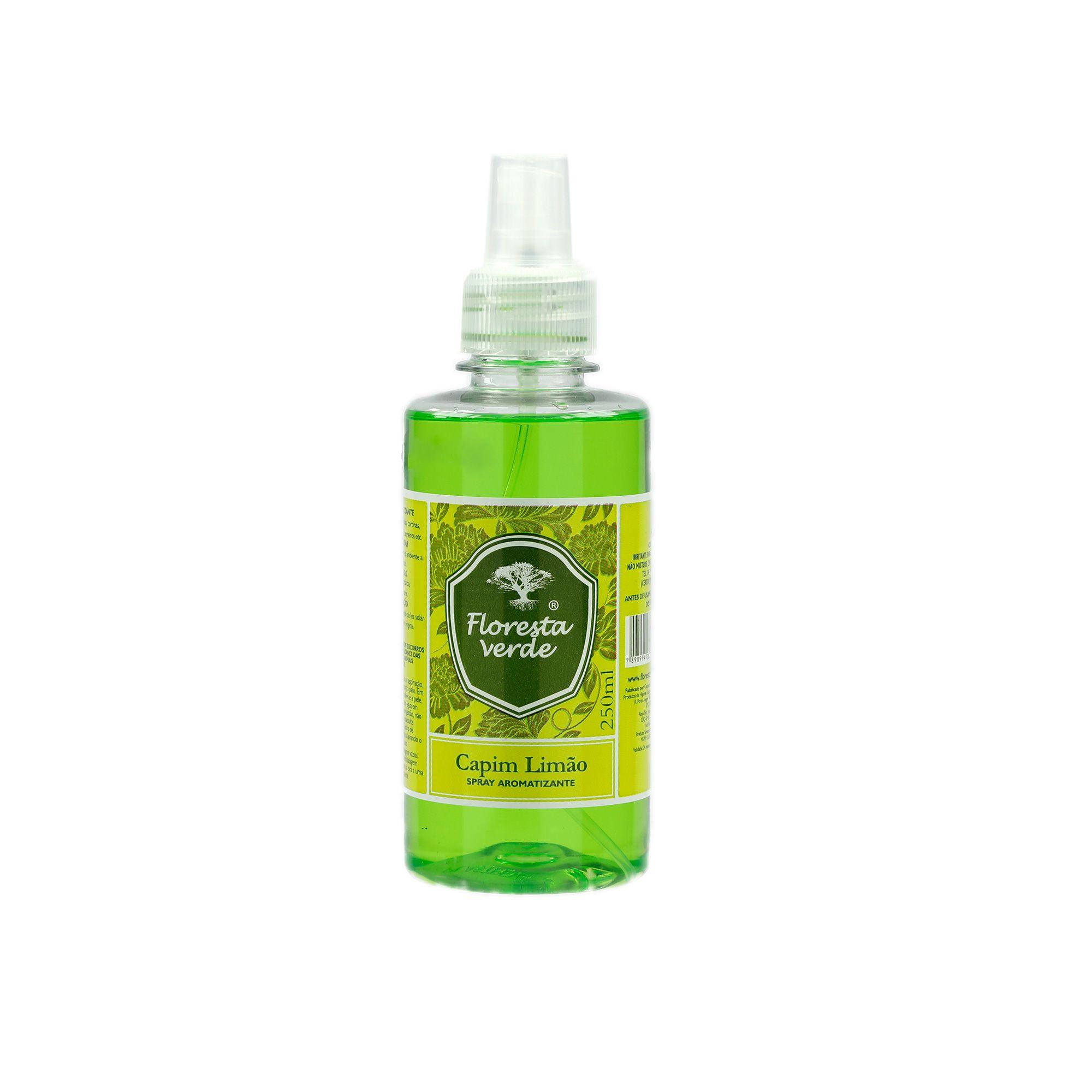 Spray aromatizante Capim Limão 250 ml