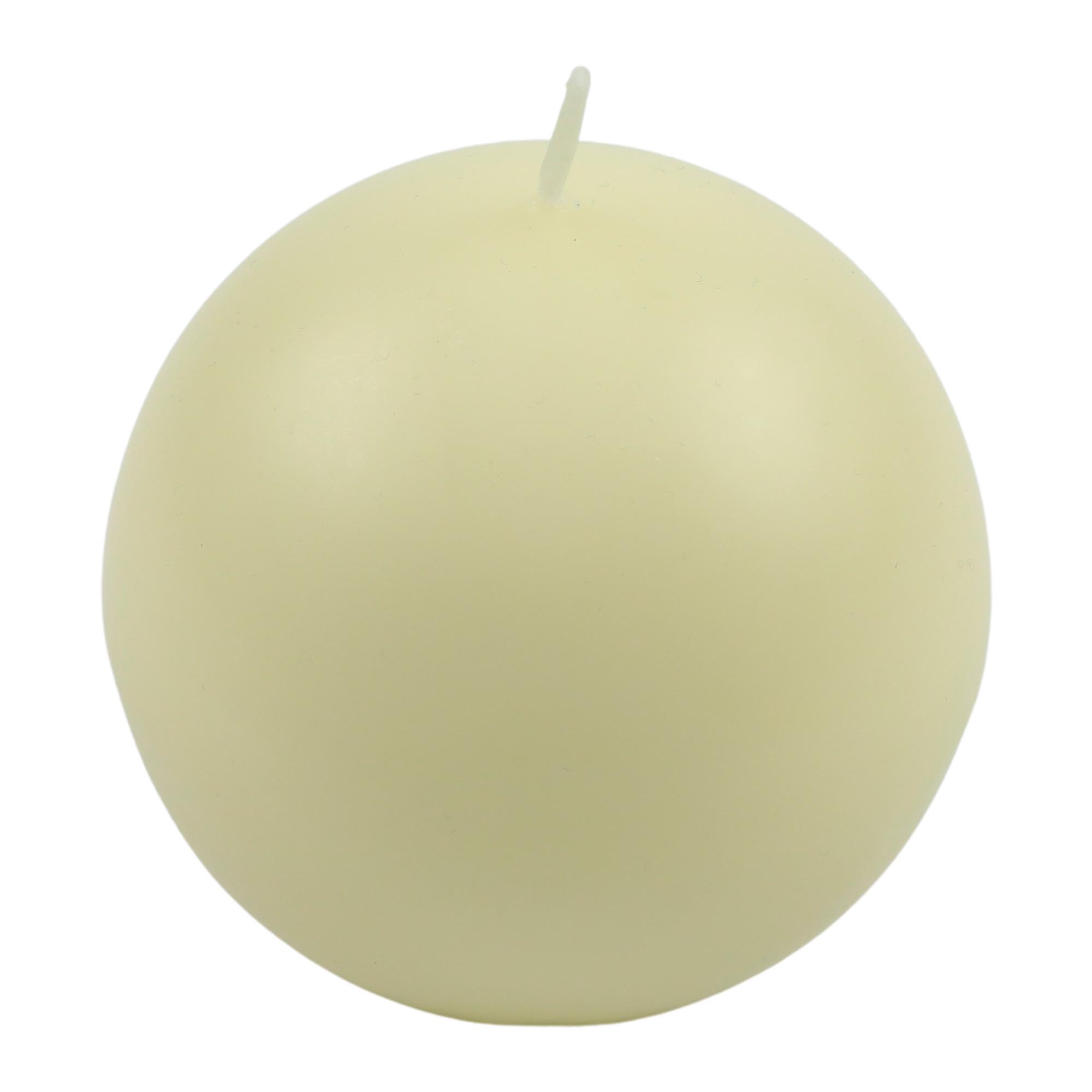 "Vela ""Bola"" 10 Cm de diâmetro"