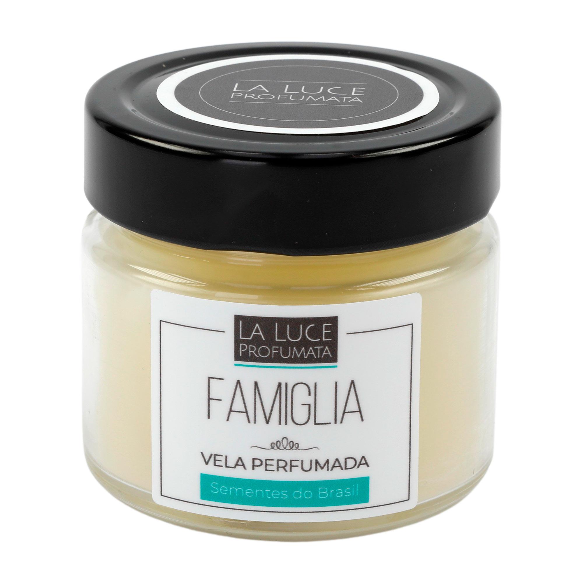 Vela Perfumada (Baunilha , caramelo e madeiras) 130 g
