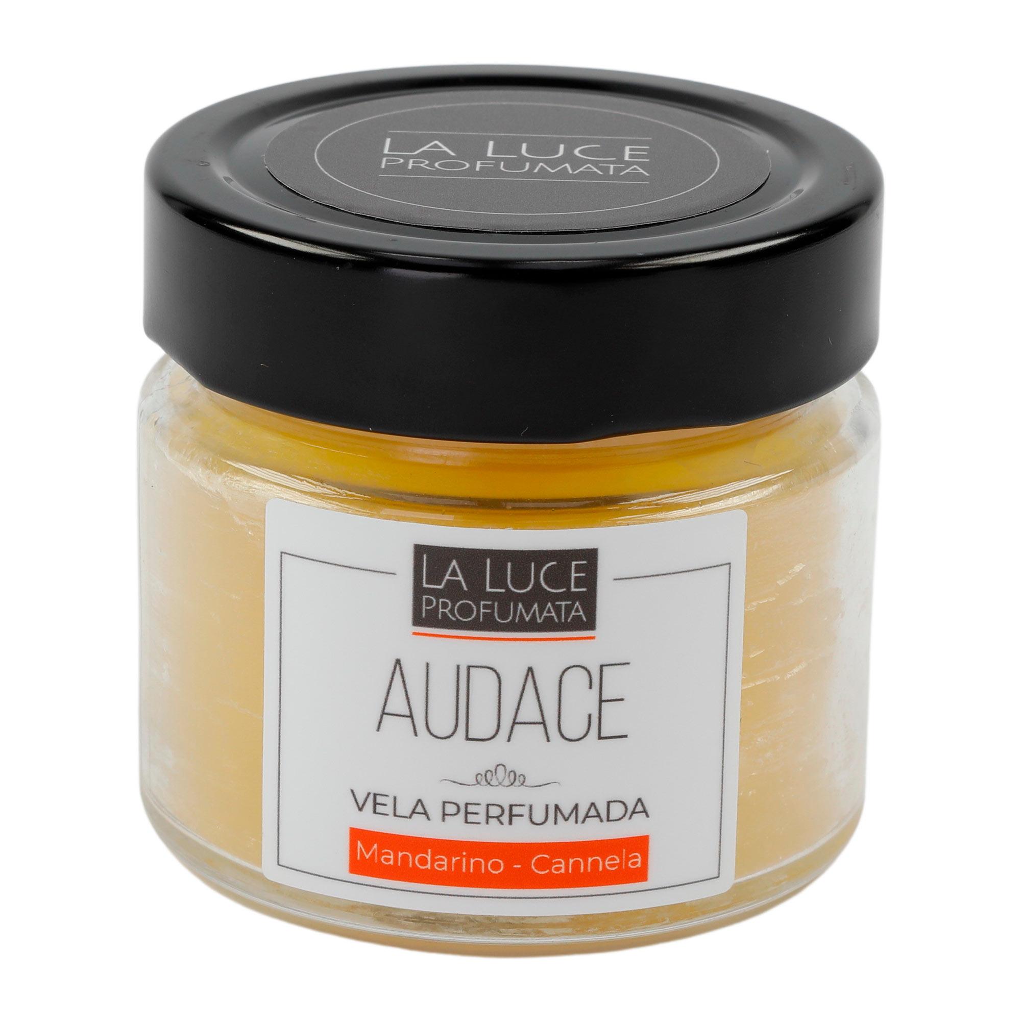 Vela Perfumada  (canela  e tangerina) 130 g