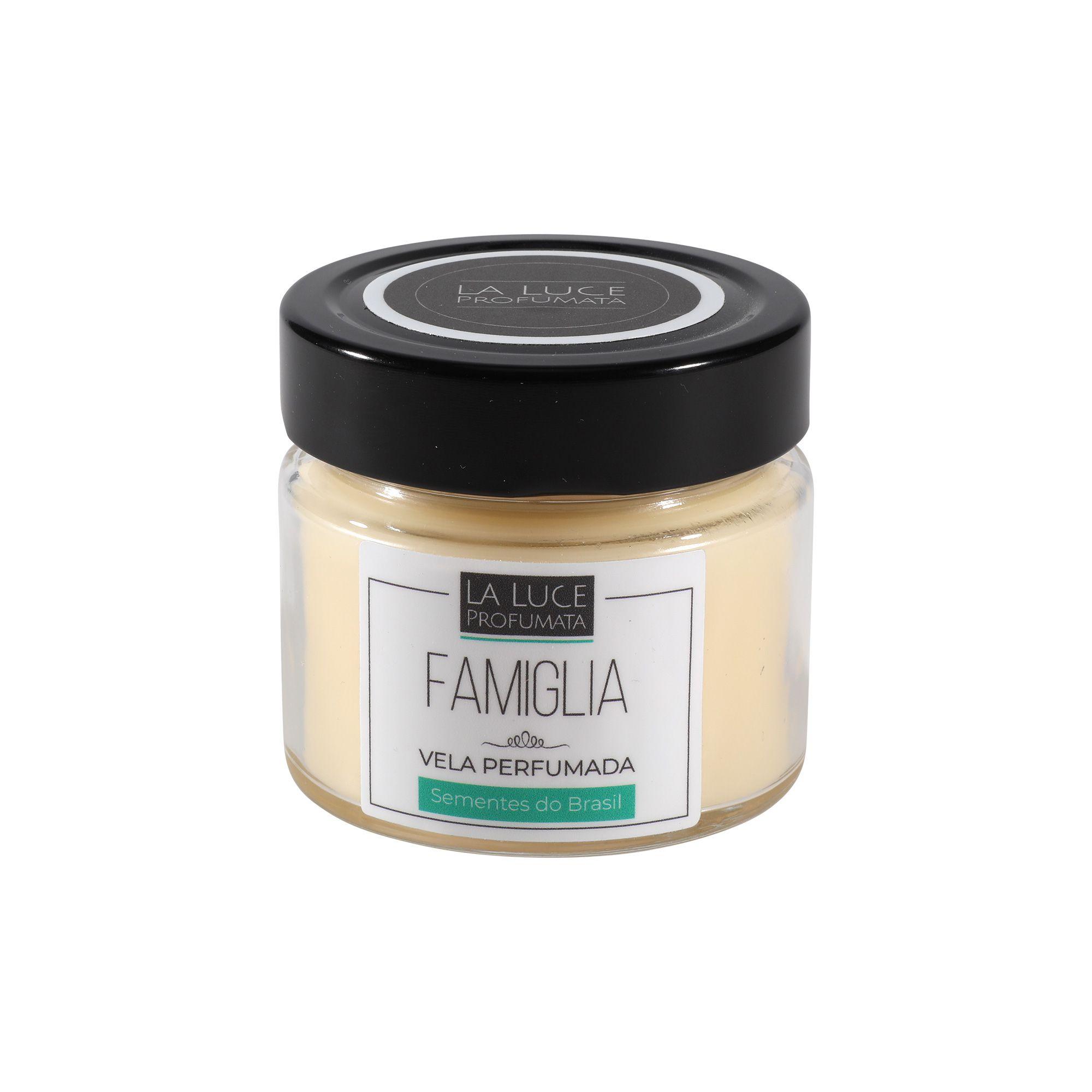 Vela Perfumada (patchouli , caramelo e madeiras) 130 g