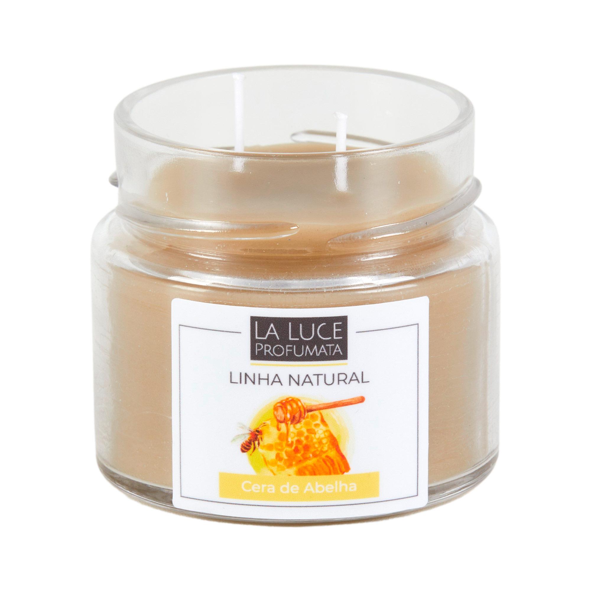 Vela  perfumada natural 100% cera de abelha