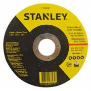 Disco Abrasivo de Corte para Inox 4-1/2 x 1,6mm x 7/8 Pol. - STANLEY-STA8063