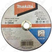 Disco de Corte 180mm Para Metal - D-19940-10 - MAKITA