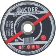 Disco de Corte para Ferro Icder A36qb32 F10x3/4 2t