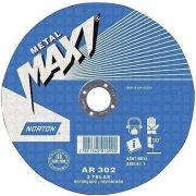 Disco de Corte Para Metal 10'' X 1/8'' X 5/8'' - AR302 - Norton 66252842907