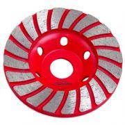 Disco de Desbaste Diamantado 100mm 23 Dentes para Concreto - HESSEN-28572