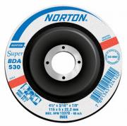 "Disco de Desbaste para Inox 4.1/2"" Norton 114,3x5,0x22,22m - BDA530"