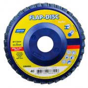 "Disco Lixa Flap 4.1/2"" - G 60 Curvo"