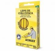 Lápis De Cera Estaca 504 C/12 Unidades - Acrilex