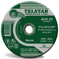 Disco De Corte Ferro 4.1/2 X 7/8 Alo 32 - Telstar
