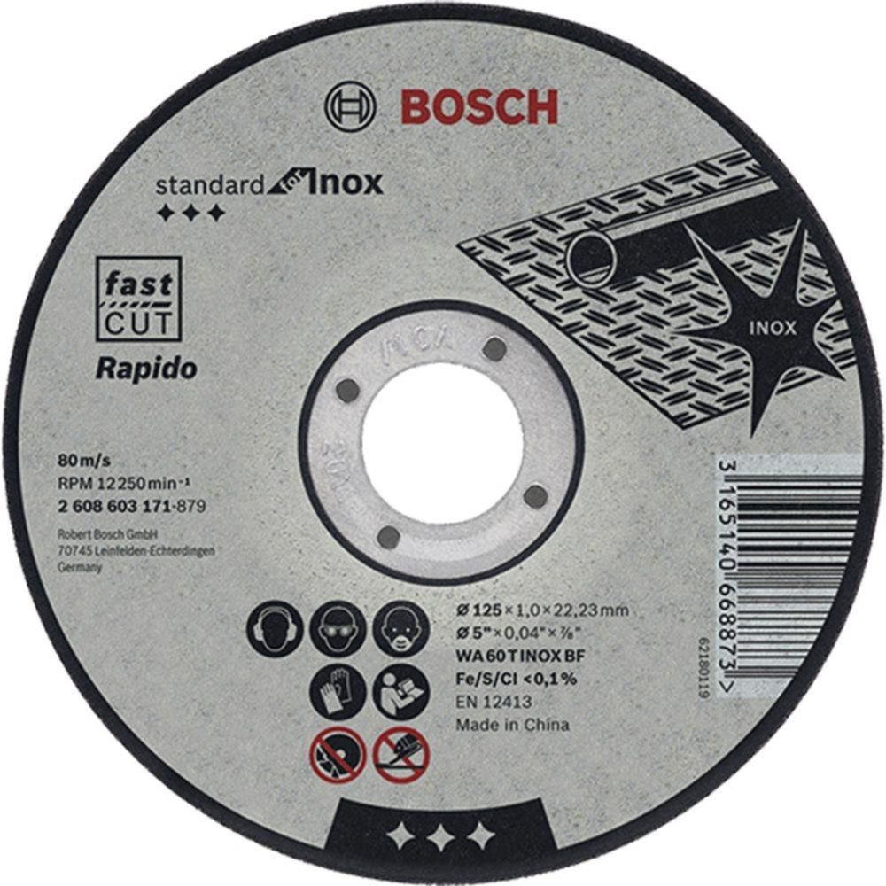 Disco De Corte Metal 180X3,0X22,23Mm - Bosch
